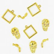 Gold colour charms